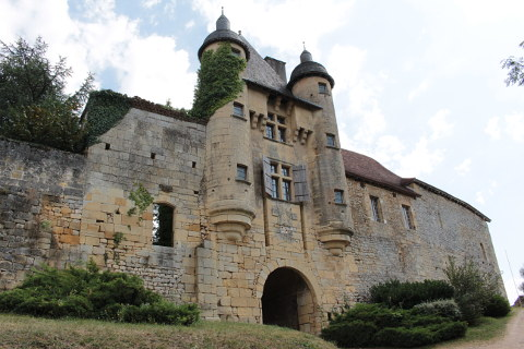 castle in  Excideuil
