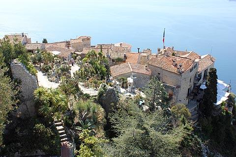 Eze France travel and tourism, attractions and sightseeing