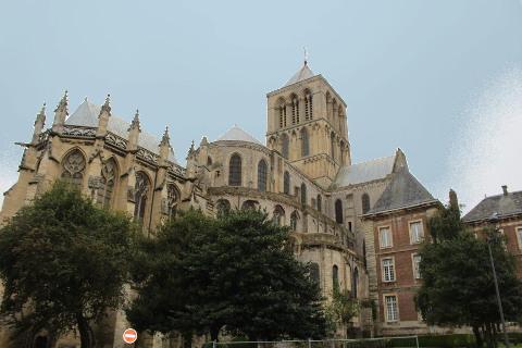église abbatiale à Fécamp