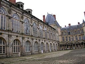 Cour Ovale at Palace of Fontainebleau