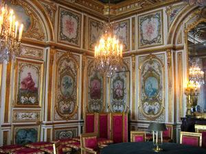 Salle Conseil du palais de Fontainebleau