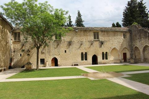 Cloisters in the Couvent des Cordeliers in Forcalquier