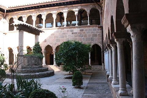cloisters in Frejus cathedral