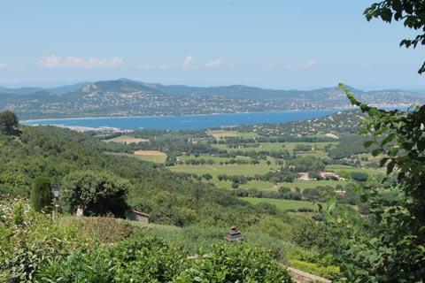 vue le long de la côte française