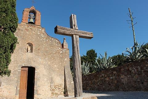 chapel in Grimaud village