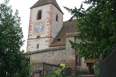 ancient fortified church