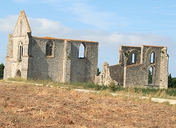 ruines de l'Abbaye de l'Ile de Ré