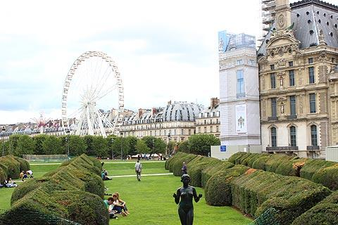 jardin des tuileries paris points forts et information touristique. Black Bedroom Furniture Sets. Home Design Ideas
