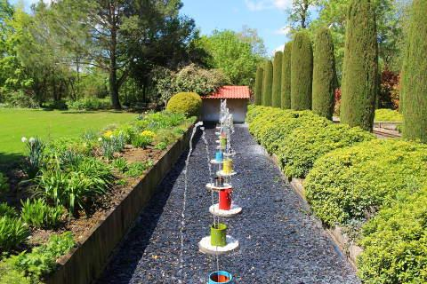 the jardin des martels is a superb garden to visit in the