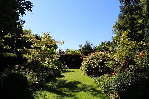 jardin anglaise à Les Jardins du Pays d'Auge