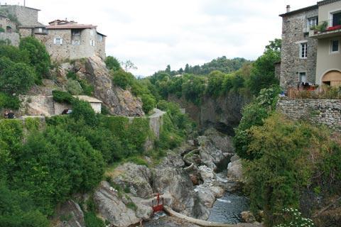 rivière Lignon à Jaujac