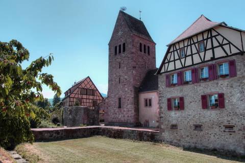 Tour et maison à colombage à Kientzheim
