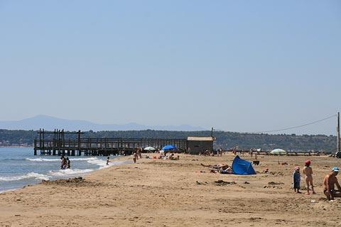 La plage de La Palme