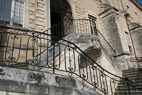 le prieuré à La Réole