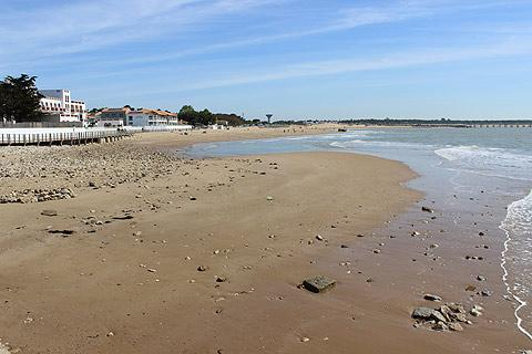 The beach in La Tranche-sur-Mer