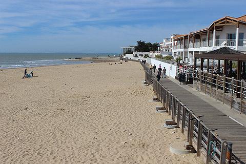 La Tranche-sur-Mer plage, Vendée