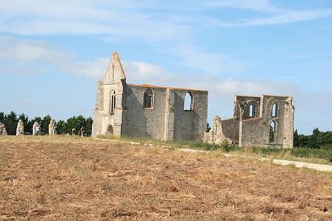 Abbey des Chateliers sur l'Ile de Ré