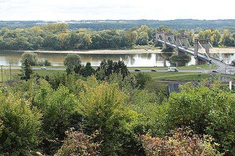 Pont historique au bord de Langeais