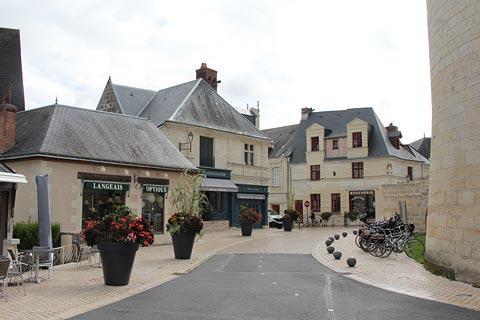 Centre du village de Langeais