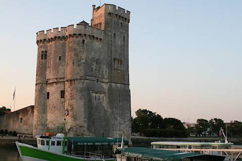 La tour Saint Nicolas à La Rochelle