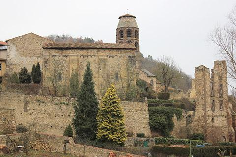 The Abbey in Lavaudieu