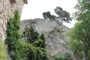 cliff-behind-village