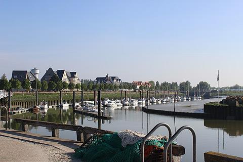 Port et bateaux du Crotoy