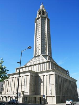 Church of St Joseph in Le Havre