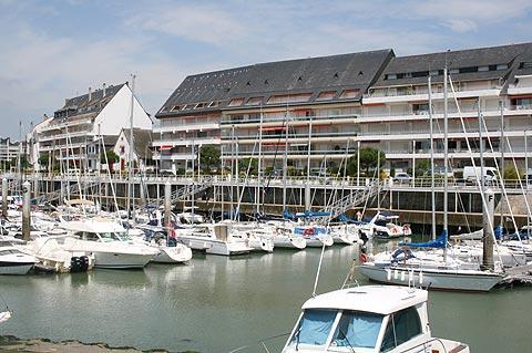 Port in Le Pouliguen