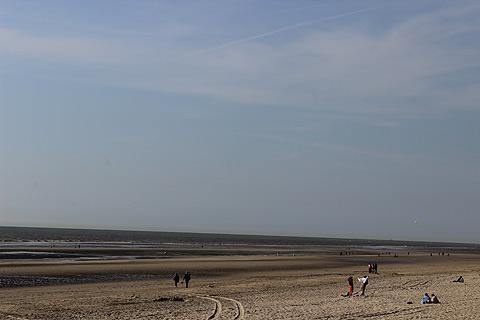 plage en sable de Le Touquet