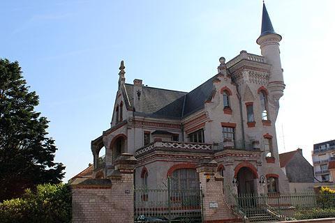 Le Castel villa at Le Touquet