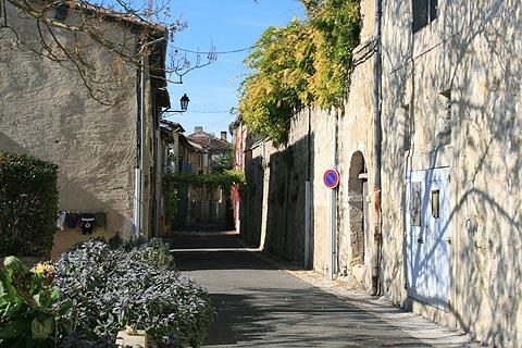 street in historic centre of Lectoure