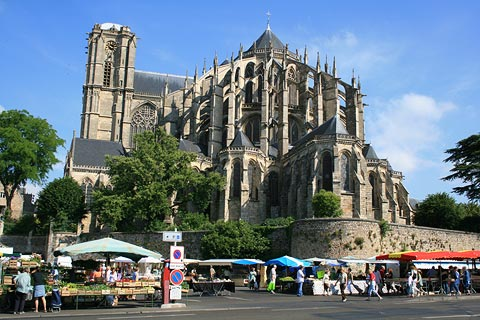 Saint-Julien cathedral, Le Mans