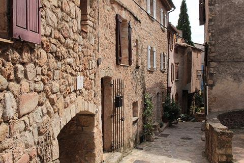 centre du village à Les-Arcs