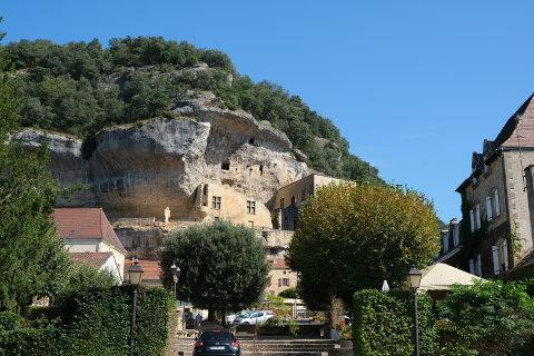 centre du village de Les Eyzies