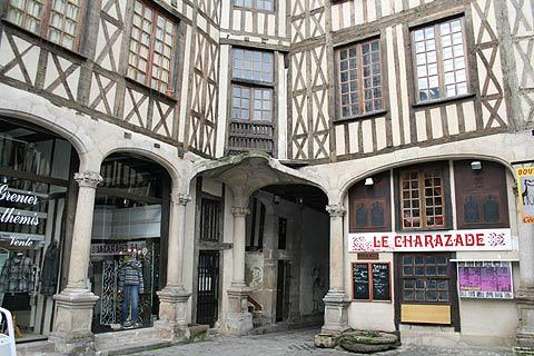 Medieval square in Limoges