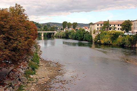 River Aude in Limoux