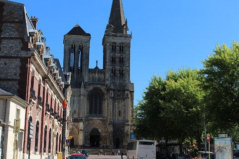 Cathedral in Lisieux