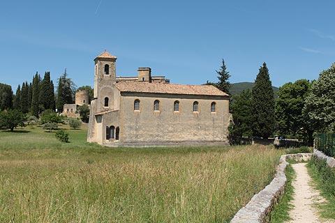 Église au bord de Lourmarin