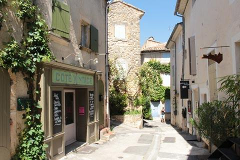 Quiet street in Lourmarin