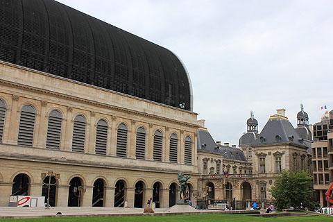 Bâtiment de l'Opéra building de Lyon