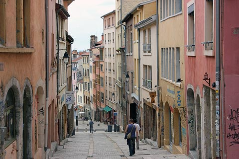 Croix-Rousse district of Lyon