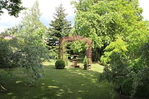 La Chambre Verte de les Jardins de La Mansonière