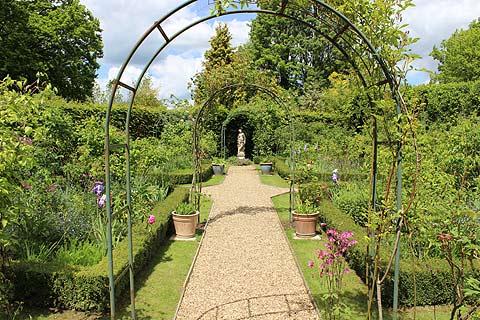 La Roseraie des Jardins de la Mansonière