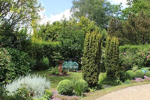 Le Jardin des Senteurs du jardin de la Mansonière