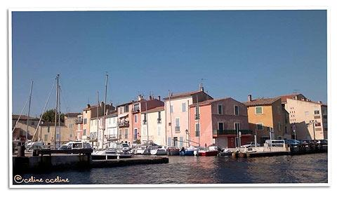 waterfront houses in Martigues
