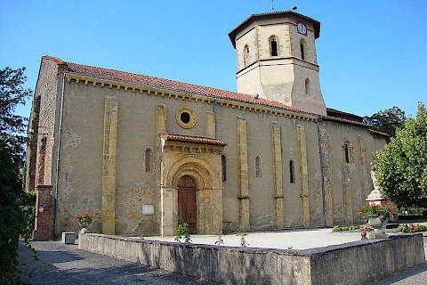Church of the Assumption in Maubourguet