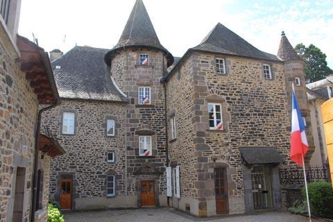 Hotel d'Orcet à Mauriac