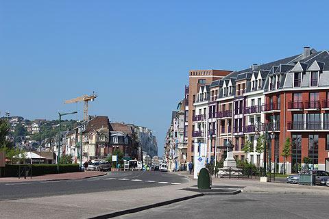 Centre ville de Mers-les-Bains