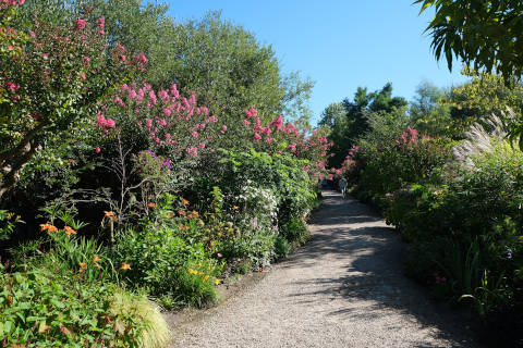 Promenade fleurie du lac d'Aureilhan